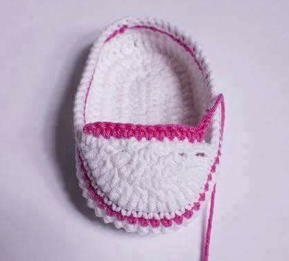 Como hacer Botines Converse de Bebé a Crochet - Manualidades Y ...