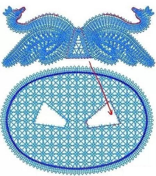 Maravillosos Cisnes Tejidos en Crochet - Manualidades Y ...