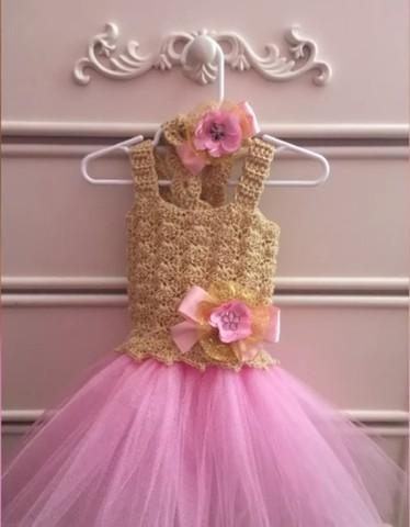 c027b952a Como hacer un vestido de tul fácil! ⋆ Manualidades Y ...