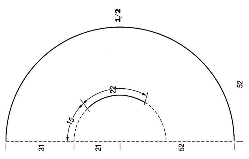 Chaleco de ganchillo tejido en círculo con patrón - Manualidades Y ...