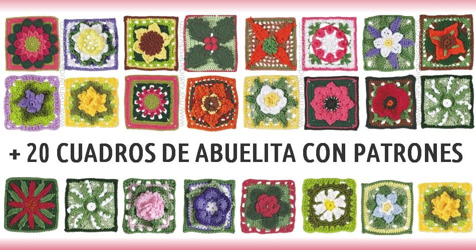 Libro con +20 Patrones de los mejores Cuadros de Abuelita ...