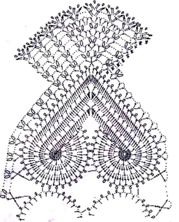 Magnífico Patrones De Crochet Libre Foto - Ideas de Patrones de ...