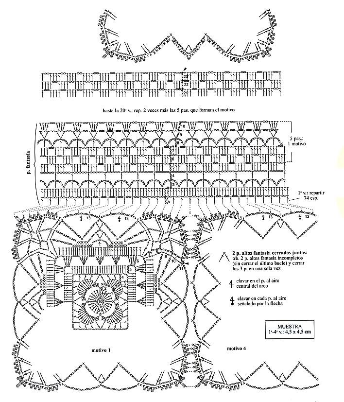 Bonito Los Patrones De Crochet Escritos Libres Motivo - Coser Ideas ...