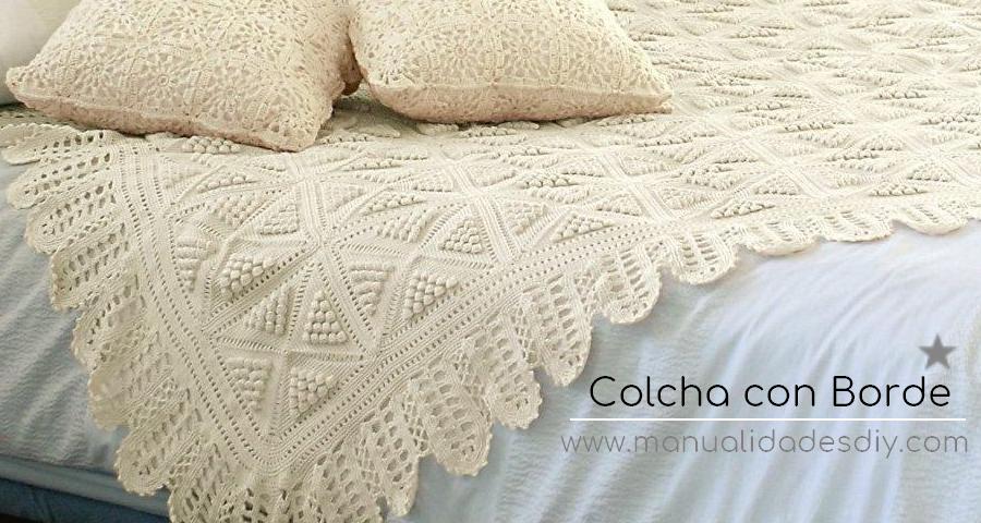 Cubrecama para Tejer al Crochet * Patrones - Manualidades Y ...
