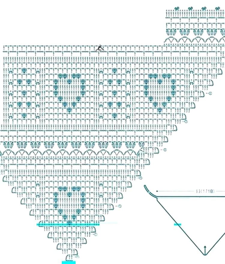 Pañuelos o Bandanas tejidas a crochet ⋆ Manualidades Y ...