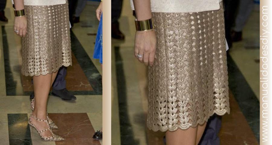 Patrón de falda veraniega a crochet - Manualidades Y DIYManualidades ...