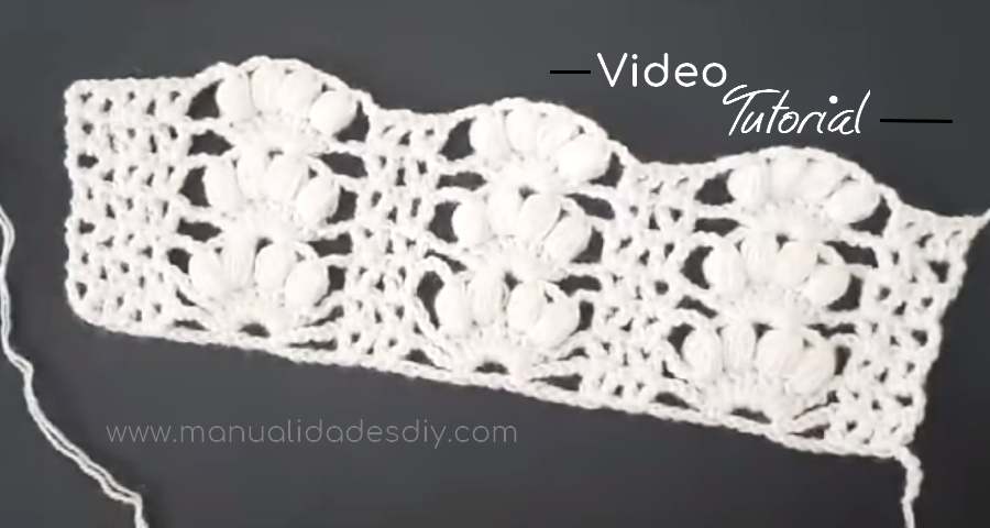 Precioso Punto a Crochet para Chalecos ⋆ Manualidades Y ...