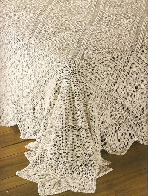 18 muestras de colchas tejidas a crochet ⋆ Manualidades Y ...