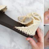chanclas crochet