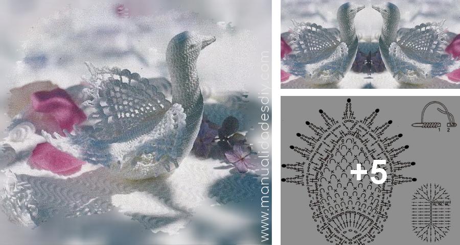 Preciosa Palomita a Crochet - Manualidades Y DIYManualidades Y DIY