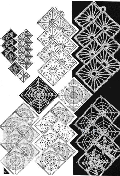 vestido crochet patrones