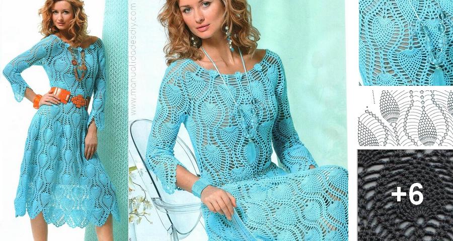 Puntos de vestidos a crochet