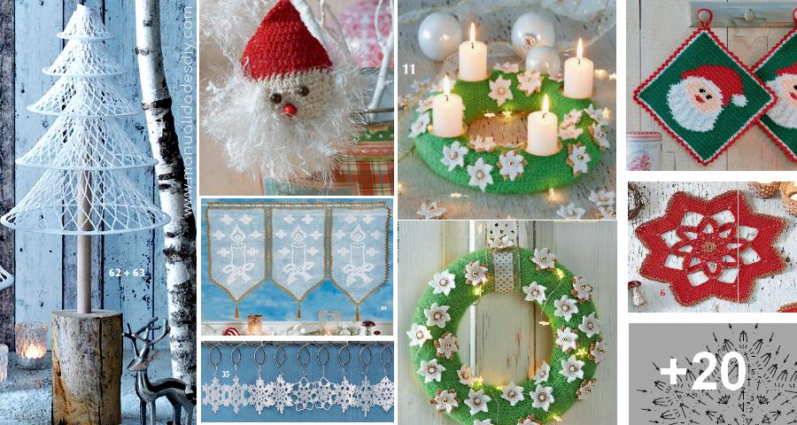 Arbolitos de navidad a crochet, con vídeos tutoriales incluidos ... | 480x900
