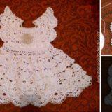 Vestido angel crochet