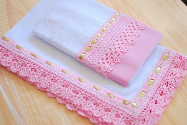 orillas en crochet