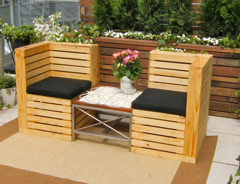30 Muebles Incre Bles Hechos Con Palets Manualidades Y  # Muebles Top Garden