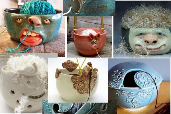 Yarn-Holder-Bowl crochet