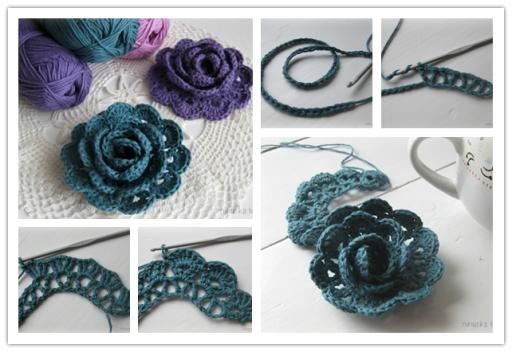 crochet flower pattern (1)