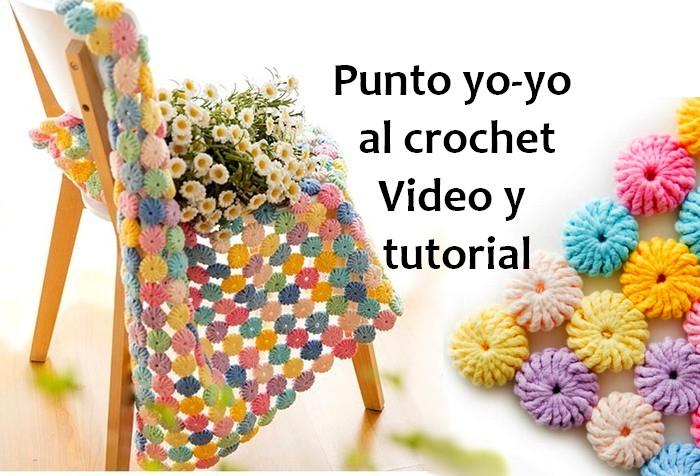 punto yo-yo crochet espanhol