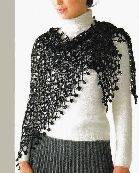 chales en crochet patrones (16)