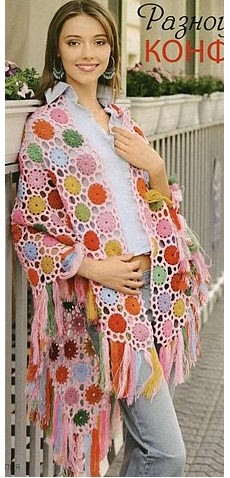 chales en crochet patrones (7)
